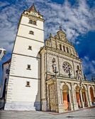 The Basilica in Mary of Bistrica — Stock Photo