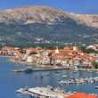 Adriatic Town of Baska panoramic view — Stock Photo #10523868
