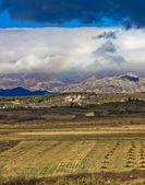 Nature layers under Velebit mountain — Stock Photo