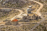 Stone church of st. Franjo on Velebit mountain — Stock Photo