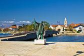 далматинских город нин вход — Стоковое фото