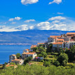 Adriatic Town of Vrbnik , Island of Krk - Stock Photo