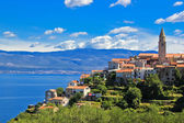 Adriatic Town of Vrbnik , Island of Krk — Stock Photo