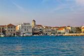 Adriatic town of Vodice waterfront, Dalmatia, Croatia — Stock Photo