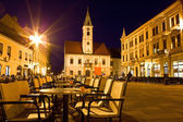 Baroque town of Varazdin city center — Stock Photo