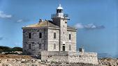 национальный парк бриони каменный маяк — Стоковое фото