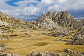 Velebit mountain landscape near Tulove Grede — Stock Photo