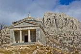 Stone church on Velebit mountain — Stock Photo