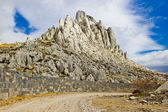 Tulove grede rocks on Velebit mountain — Stock Photo