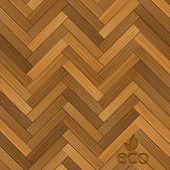 Vector wood parquet floor — Stock Vector
