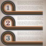 Retro design template — Stock Vector