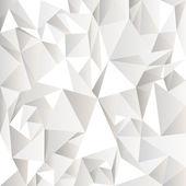Weiße zerknittertes abstrakt — Stockvektor
