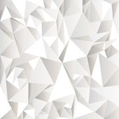 White crumpled abstract background — Vector de stock