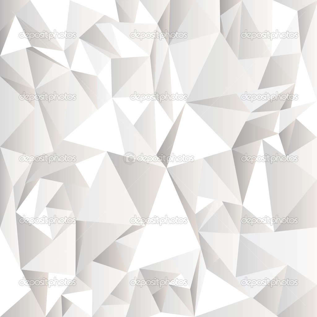 White Crumpled Abstract Background