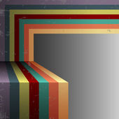 Retro abstract background — Stock Vector