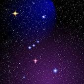 Orion nebula — Stock Vector