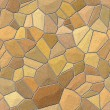 Stone wall seamless texture - Stock Photo