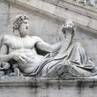 Statua Tevere n.2 - Stock Photo