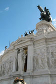 Statua dea Roma — Stock Photo