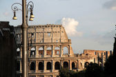 Colosseo street view — Stock Photo