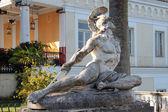 Statua Achille sofferente — Stock Photo