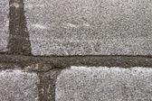 A parte da parede de tijolos antigos — Foto Stock