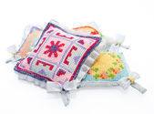 The pads beautifully decorated — Stock Photo