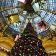 Galeries Lafayette in christmas. — Stock Photo #9272785