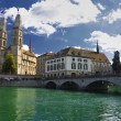 Stock Photo: Zurich switzerland.