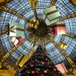 Galeries Lafayette in christmas. — Stock Photo #9273337