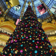 Galeries Lafayette in christmas. — Stock Photo #9273565