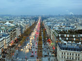 Avenue des Champs-Elysees — Stock Photo