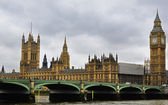 London - England - Europe UK parliament. — Stock Photo
