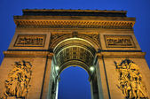 Paris - France Arc de Triomphe — Stock Photo