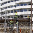 Building workers and constructions - Stockfoto