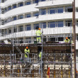 Building workers and constructions - Foto de Stock