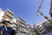 Ingénieur et l'industrie de la construction — Photo