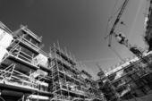 Technologie en bouw — Stockfoto