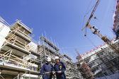 строительные инженеры и промышленности — Стоковое фото