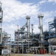 Oil refinery installation — Stock Photo
