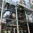 Stock Photo: Oil and gas refinery