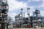Oil refinery installation — Stock Photo
