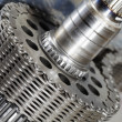 Aerospace gears and timing chain — Stock Photo #8308583