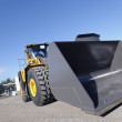 One Loader excavator - Stock Photo