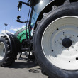 Stock Photo: Giant farming tractor
