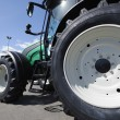 Giant farming tractor — Stock Photo #8961109