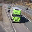 Truck transport on freeway — Stock Photo #9952549