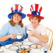 Stock Photo of Tea Party Conservatives — Stock Photo #10125893
