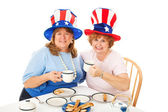 Stock Photo of Tea Party Conservatives — Stock Photo