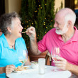 Stock Photo of Senior Couple on Date — Stock Photo #10357919